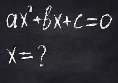 Determinar as raízes da função de 2º grau é encontrar os valores de x.