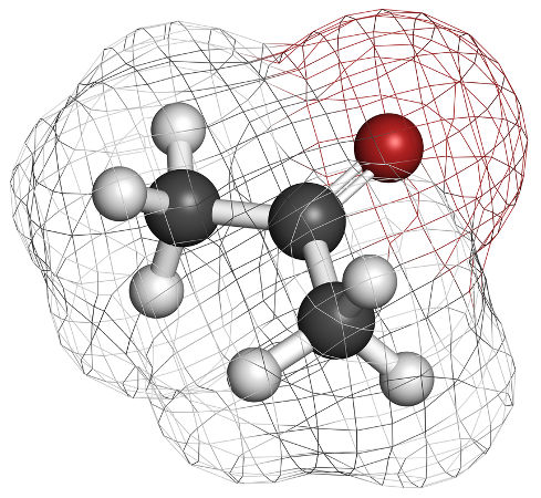 Dimetil-cetona é o nome usual da propanona