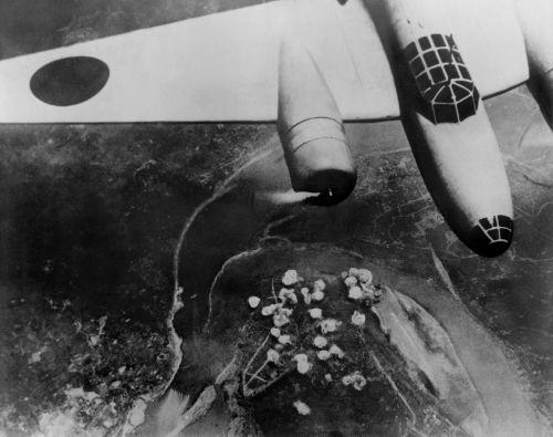 Durante a Segunda Guerra sino-japonesa, o Japão fez uso de bombas para disseminar doenças pela China