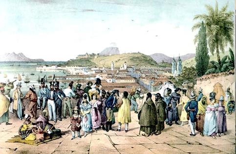 As cidades coloniais tinham condições de vida bastante precárias