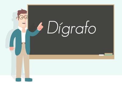 Chamamos de dígrafo quando duas letras juntas emitem apenas um fonema