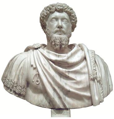 O imperador Marco Aurélio foi um dos representantes do estoicismo romano