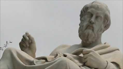 Em o Sofista, de Platão, o autor buscava determinar a estrutura da ciência humana das ideias