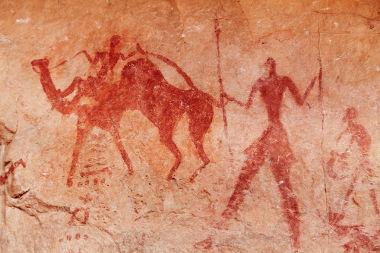 A arte rupestre constitui um dos principais documentos relativos à Pré-História