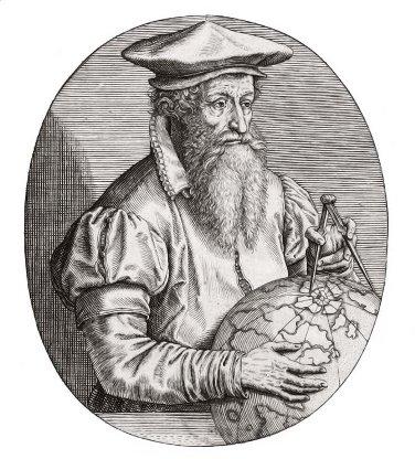"""Gerhard Mercator, o """"pai"""" das projeções cartográficas na ciência moderna"""