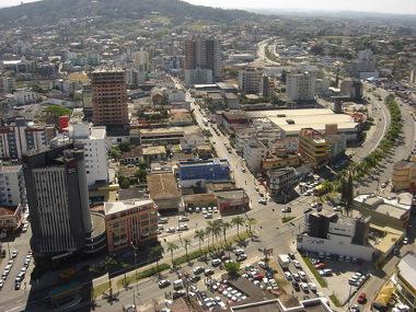 Criciúma, cidade média localizada em Santa Catarina
