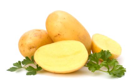 A batata é um dos alimentos que mais contêm amido