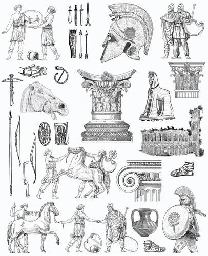 A história da Grécia Antiga é marcada por diferentes fases e características