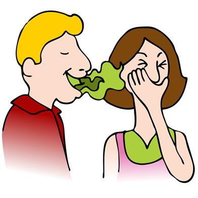 Muitas vezes o mau hálito não é percebido pelas pessoas portadoras, mas, dependendo da intensidade, pode causar repulsa em outras pessoas