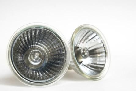 Lâmpadas halógenas usadas principalmente em iluminação decorativa e de destaque