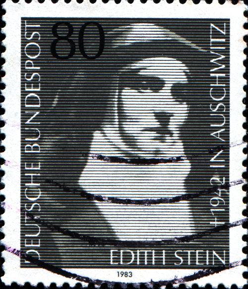 Edith Stein morreu em 1942, no campo de concentração de Auschwitz, na Polônia *