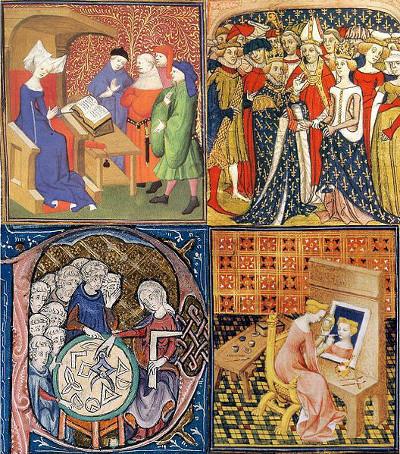 Na Idade Média, a Europa conseguiu unidade territorial e política