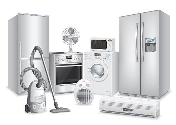 Eletrodomésticos que transformam energia elétrica em outras formas de energia, como luz e movimento, são chamados receptores.