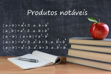 Em alguns casos da multiplicação algébrica, é possível utilizar os produtos notáveis