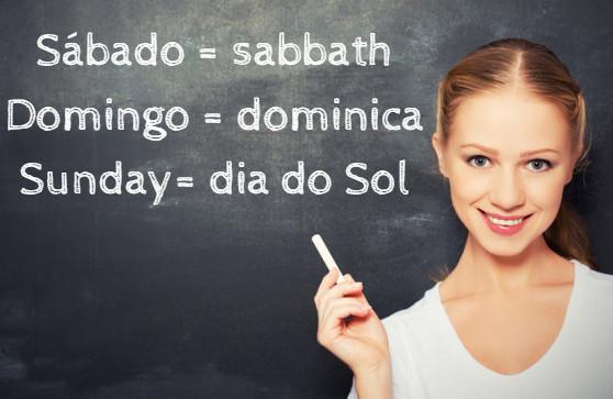 """Em latim, Domingo significa """"o dia do senhor""""."""