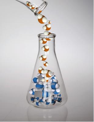 Em misturas de soluções sem a ocorrência de reação química, a massa dos solutos permanece inalterada
