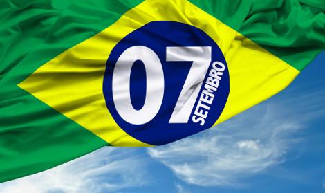Em setembro, é comemorada a data em que o Brasil viu-se independente de Portugal