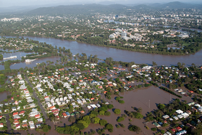 Enchentes no Brasil