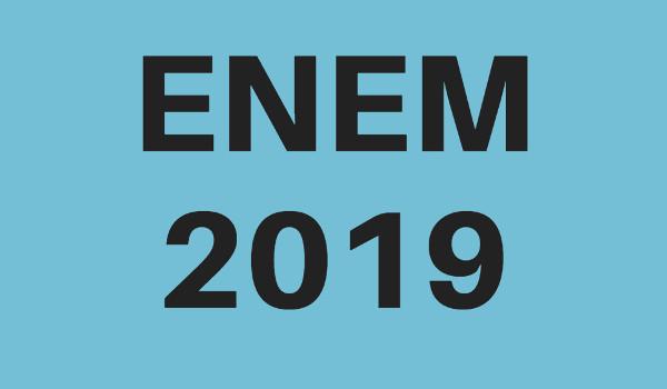 Provas do Enem 2019 serão em novembro