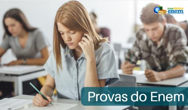 Enem conta com 180 questões divididas em quatro áreas do conhecimento e uma redação