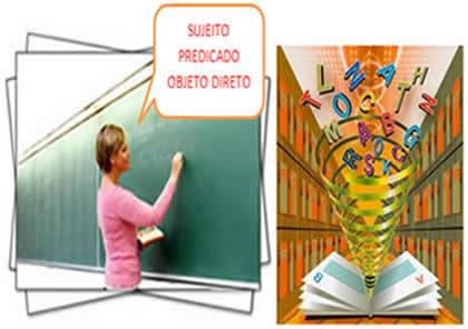 O ensino da sintaxe, baseado em regras e nomenclaturas, pode ser desestimulante