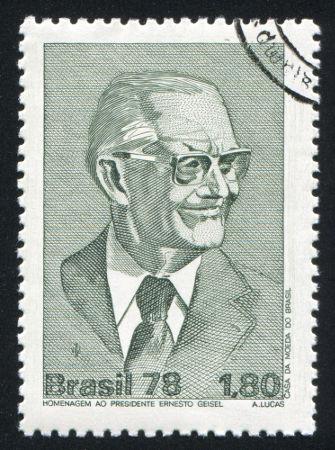 Ernesto Geisel foi um dos generais-presidentes durante o regime militar no Brasil*