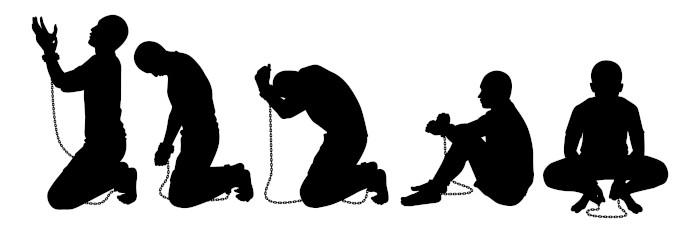 A escravidão nos dias de hoje inclui: trabalho forçado ou por dívida, condições degradantes, altas jornadas e agressões físicas e psicológicas.