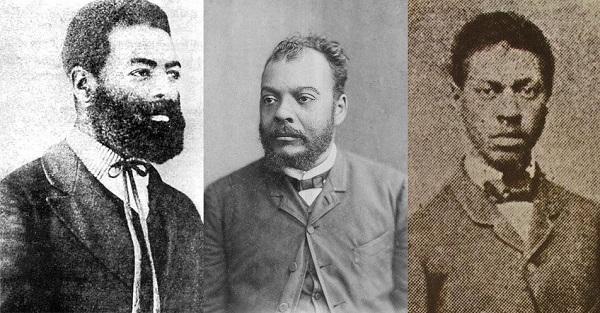 Luiz Gama, José do Patrocínio e André Rebouças são exemplos de três grandes abolicionistas negros brasileiros.