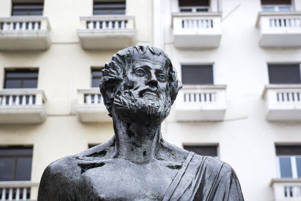 A Metafísica de Aristóteles foi o primeiro grande tratado metafísico sistemático do mundo antigo.