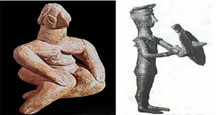 Escultura Neolítica; Escultura Neolítica em Bronze, Museu Pigorini, Roma