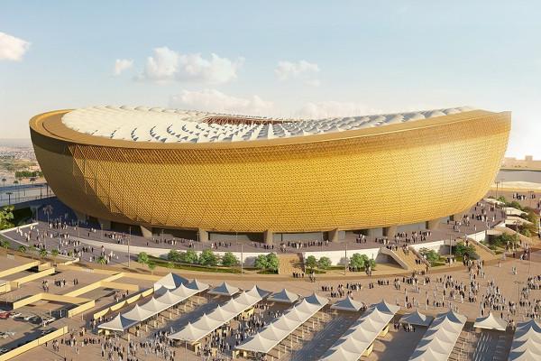 Estádio Lusail será o principal da Copa do Catar 2022. (Crédito: Divulgação)