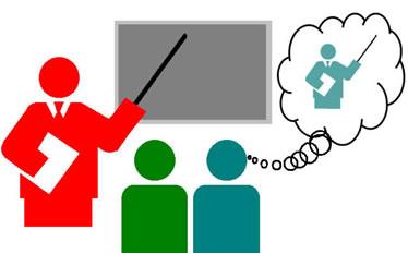 Por meio do estágio supervisionado os alunos de licenciatura veem a realidade cotidiana de sua futura profissão e juntam a teoria à prática