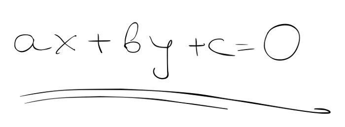 Exemplo de equação do primeiro grau com duas incógnitas e seus coeficientes