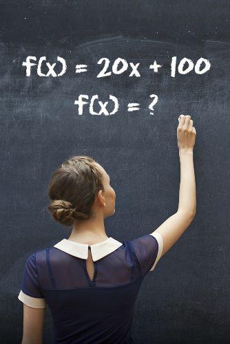 Exemplos de aplicação de uma função de 1º grau
