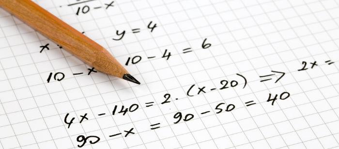 Expressão algébrica: uma expressão numérica com um número desconhecido