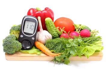 O diabetes pode ser controlado com uma alimentação saudável