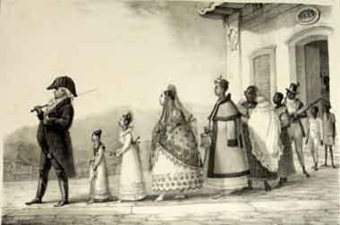 O modelo de família patriarcal foi determinante para a constituição do Brasil Colonial