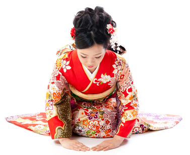Kirei - Uma forma de saudação japonesa