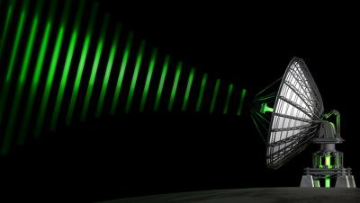Os aparelhos de comunicação funcionam a partir das ondas eletromagnéticas que recebem dos sinais enviados por antenas