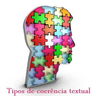 Existem seis tipos de coerência textual: sintática, semântica, temática, pragmática, estilística e genérica