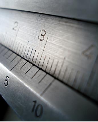 Os algarismos significativos indicam a precisão da medida