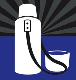 O Vaso de Dewar é utilizado para conservar a temperatura do líquido colocado em seu interior