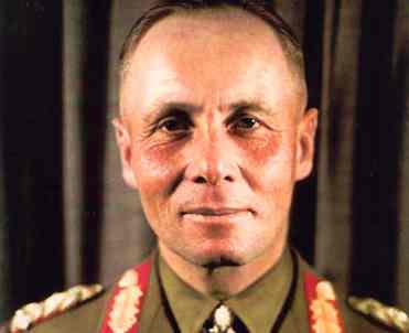 O general Rommel sofreu o impacto direto dos equívocos da ação militar de Adolf Hitler.