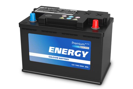 A bateria automotiva apresenta um ácido muito forte em seu interior