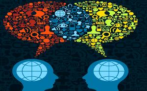A língua é o código mais utilizado para estabelecer a comunicação