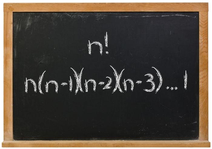 Fatorial: base da fórmula para o cálculo de permutações