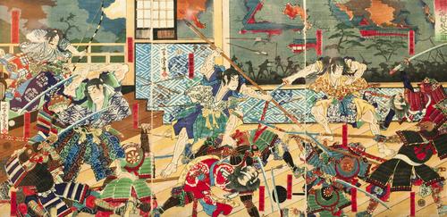 Batalha Samurai, uma enigmática figura da cultura japonesa.