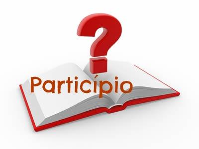 O particípio, ora representado por uma forma nominal, constitui-se de particularidades.