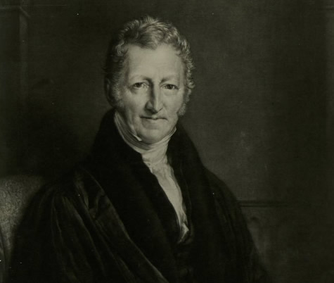 Thomas Malthus usou as progressões para explicar sua teoria sobre o crescimento populacional e a fome.