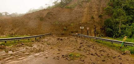 Os deslizamentos de terra consistem num processo de desgaste dos solos, onde as áreas com declividade sofrem a ação da força das águas das chuvas